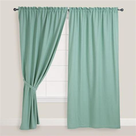 jade green curtains jadeite chelsea curtains set of 2 world market