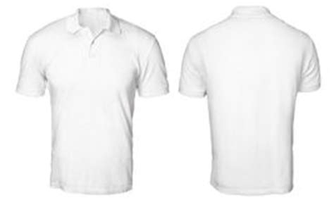 polo shirt template front and back plain white front and back www pixshark images