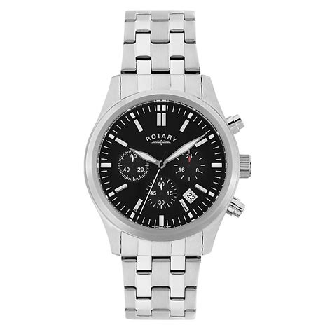 rotary s stainless steel chronograph sports h