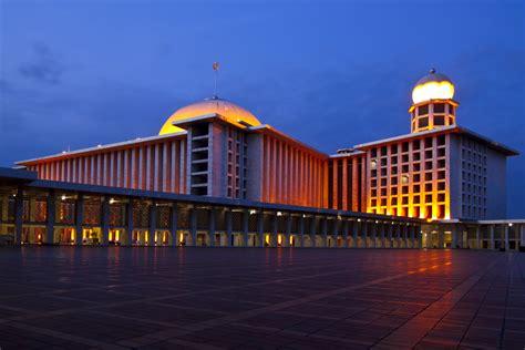 desain masjid istiqlal keungulan kubah masjid istiqlal jakarta kubah indah