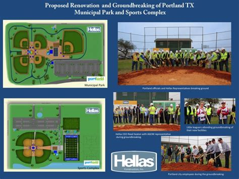 design build contract texas hellas design build group awarded portland municipal park