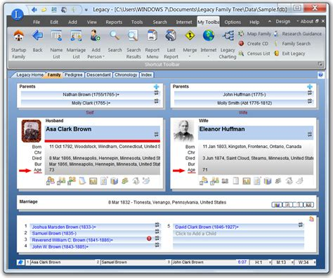 online tutorial www verizon com quickguides customize family view legacy family tree