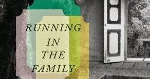 running in the family books the chocolate s book review a poetic memoir of