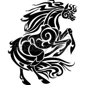 stallion horse design cartoon clipart images and clip art ... Girl Soccer Silhouette Clip Art