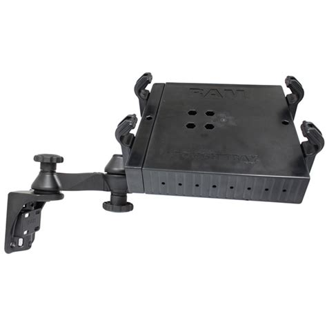 swing arm laptop holder ram dual swing arm laptop mount ram 109v 234u