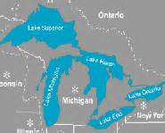 united states map 5 great lakes great lakes map picture five lakes lake superior