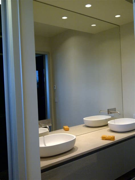 mirror wall in bathroom mirrors repair replace and install in vancouver bc
