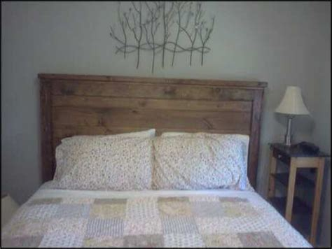 did headboard bedroom charming reclaimed wood farmhouse style