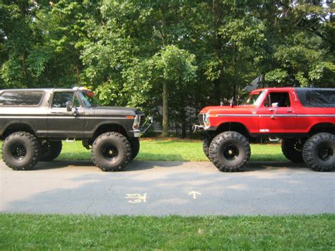 bronco car lifted 1000 images about 78 79 trucks broncos on pinterest