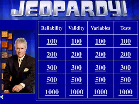 Powerpoint Jeopardy Template   beepmunk