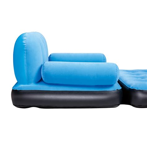 blow up settee inflatable double sofa air bed couch blow up mattress with