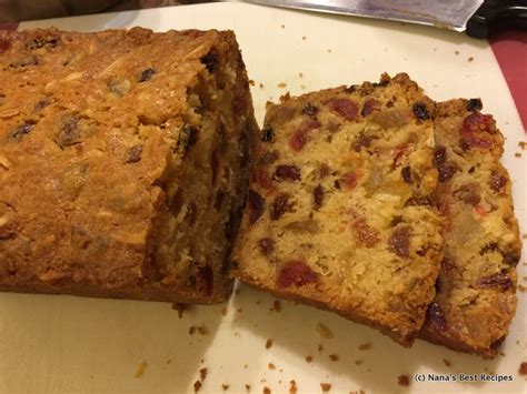 Light Fruit Cake Nana S Best Recipes Light Fruit Cake