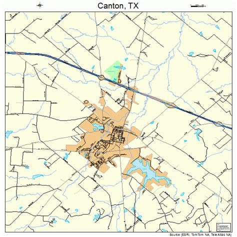canton texas map canton texas map 4812496