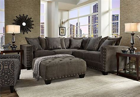 cindy crawford sidney road sofa picture of cindy crawford home sidney road gray 2 pc