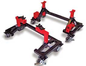 Backyard Buddy Lifts Easy Access Jack Stand And Car Dolly System