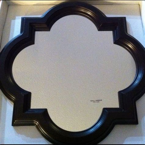 mirror target small quatrefoil mirror by target home available in store only 19 99 black white living