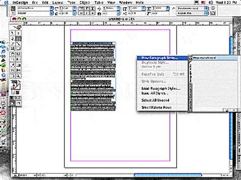 indesign tutorial menu indesign beginning tutorial