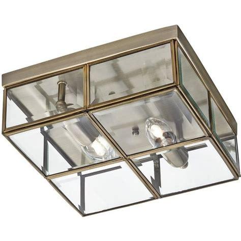 Brass Flush Ceiling Light Deckenle Searchlight 6769 26ab 2 Light Flush Ceiling Light Antique Brass