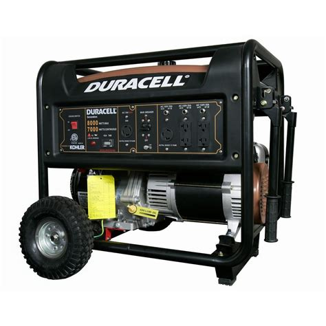 duracell 8000 watt gasoline powered portable generator