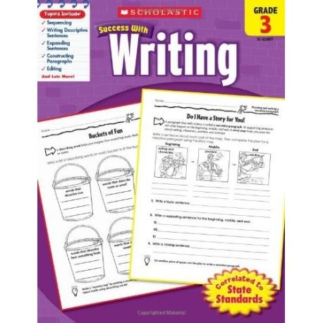 success with writing grade 3 english wooks