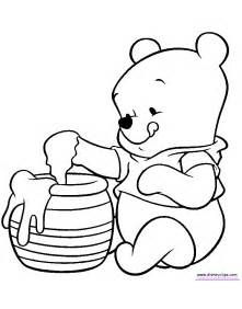 coloring for babies baby pooh coloring pages disney coloring book