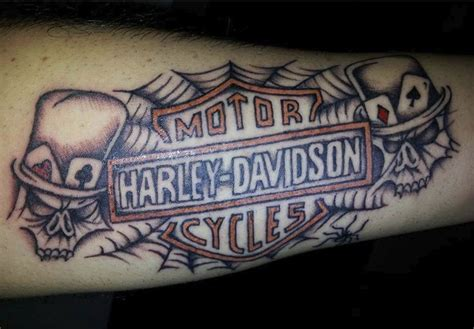 biker u0026 harley davidson tattoos harley davidson spiderweb shared by our fan l
