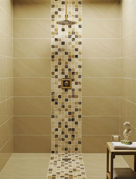 Mosaic Tiles In Bathrooms Ideas 17 Best Ideas About Shower Tile Designs On Bathroom Tile Designs Shower Niche And