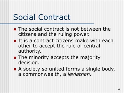 The Social Contract ppt hobbes locke rousseau powerpoint presentation id