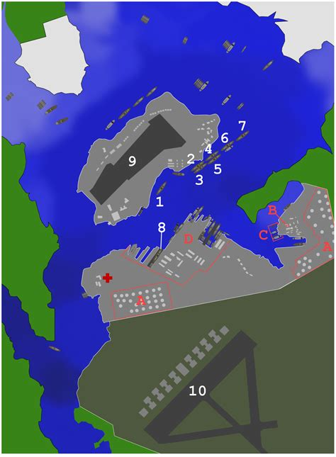 hrbr layout wikipedia list of united states navy ships present at pearl harbor