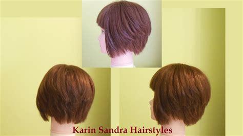 layered bob hairstyles youtube bob haircut tutorial short layered haircut tutorial