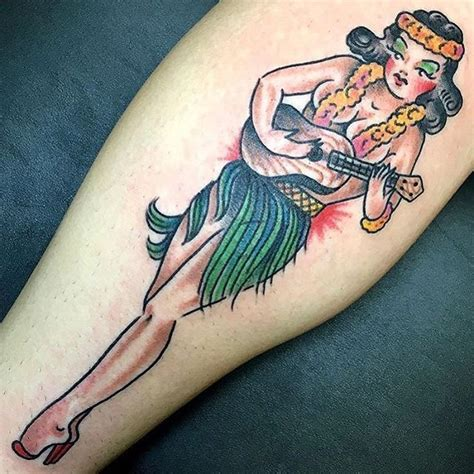 hula girl tattoo designs 31 best best traditional tattoos designs images on