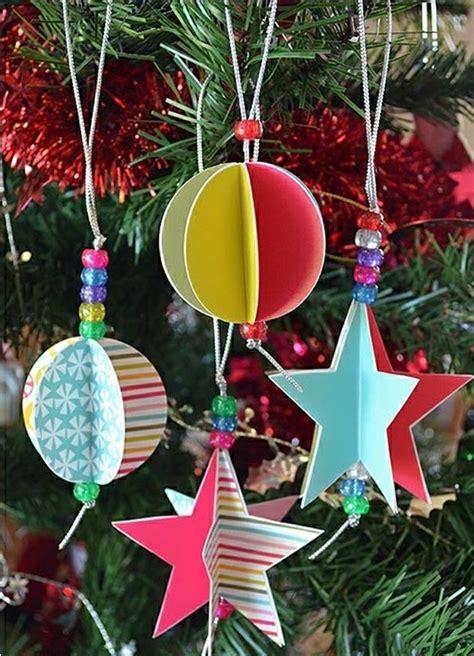 weihnachtsbaumschmuck ideen weihnachtsbaumschmuck basteln und den tannenbaum originell