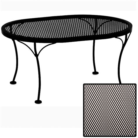 Oval Outdoor Coffee Table Ow Micro Mesh Oval Coffee Table 2434 Ovmmot