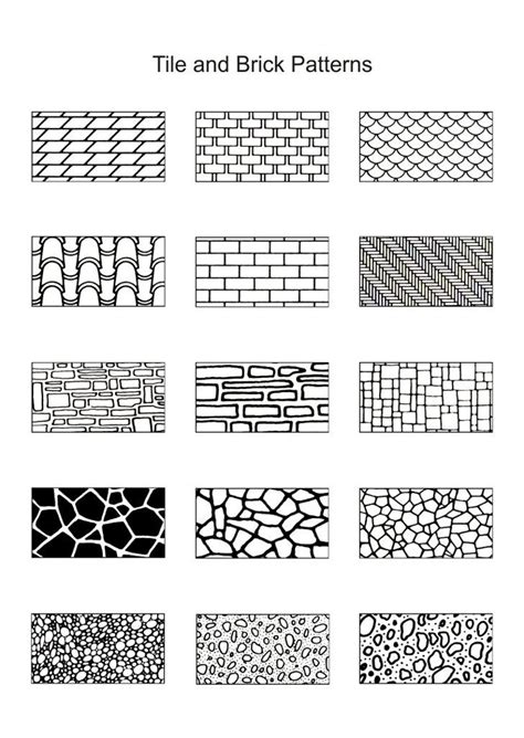 pattern drawing worksheet 17 best ideas about brick patterns on pinterest bricks