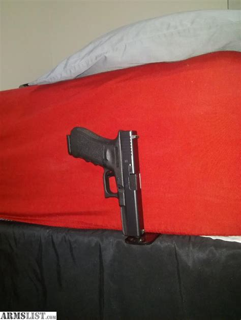 bed gun holster armslist for sale bed side gun holsters glock beretta