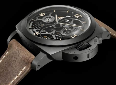 Luminor Panerai Turbilon Angka Black 1 panerai presents lo scienziato luminor 1950 tourbillon gmt ceramica in honor to galileo