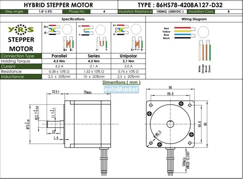 nema  hs step motor nm esto market