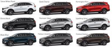 Kia Carnival Colours 2016 Kia Sorento Release Date 2017 2018 Best Cars Reviews