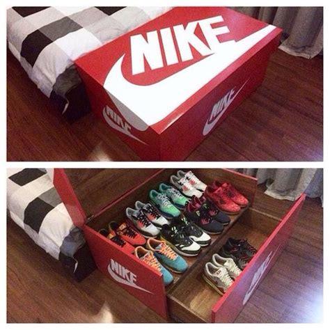 Nike Shoe Rack by Nike Shoe Storage Box Shoe Biz Storage