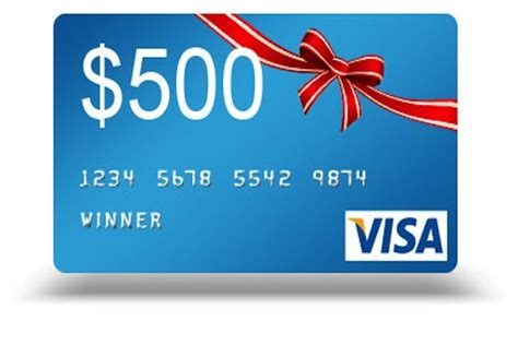 What Is A Visa Gift Card - 500 visa gift card images