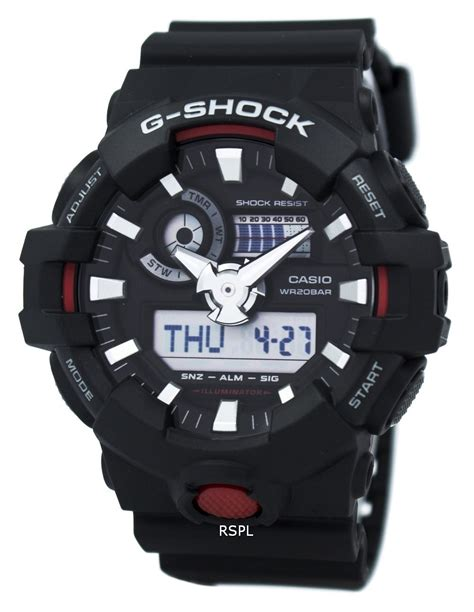 Casio G Shock Ga 700 1a Original casio g shock illuminator analog digital ga 700 1a s citywatches co uk