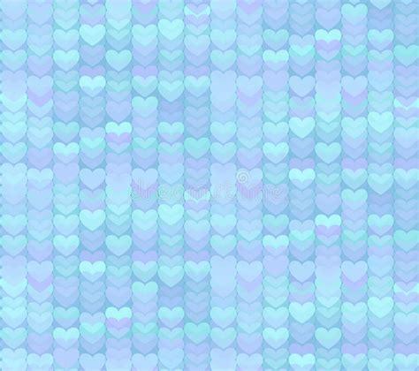 pattern blue heart light blue hearts seamless pattern background stock vector