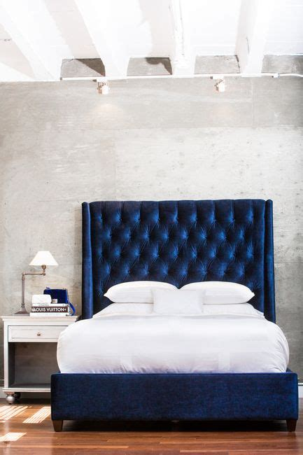Design Ideas For Black Upholstered Headboard Best 25 Blue Bed Ideas On Pinterest Blue Bedding Blue Bedroom And Bedding Master Bedroom