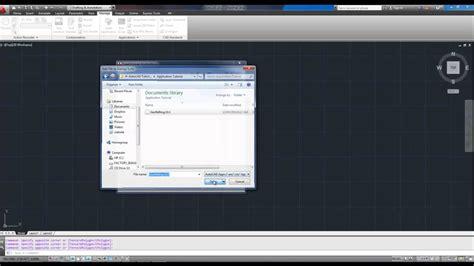 tutorial autocad lisp autocad tutorial load a lisp or application doovi