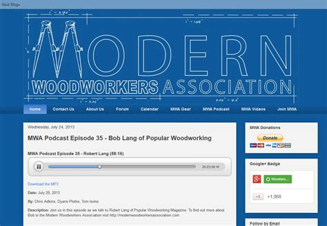woodworkers association podcast with modern woodworkers association