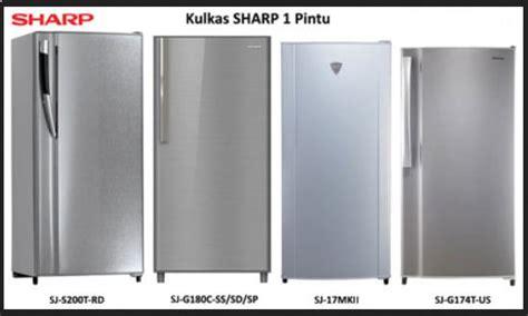 Kulkas Merk Sharp daftar harga kulkas lemari es terbaru daftar harga