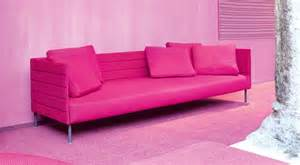 pinkes sofa pink patio sofa from luminaire
