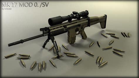 New Sniper Scar mk17 mod 0 sv scar h sniper garrysmods org