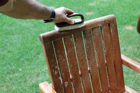 Teak Garden Furniture Cleaning How To Clean Teak Outdoor Furniture The Basic Woodworking