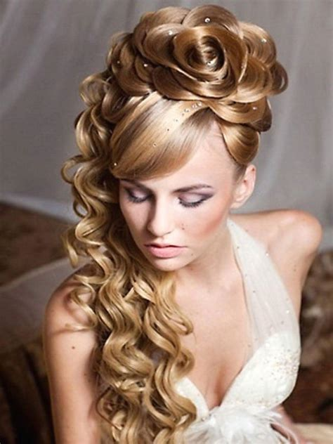 Wedding Hairstyles With Roses by 60 Stunning Wedding Hairstyles For Hair For The